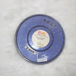 Vintage Educational Empty Film Reel Canister